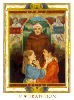 The Pope Tarot Card - Lovers Path Tarot Deck
