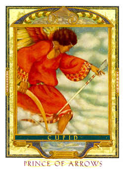 Prince of Swords Tarot Card - Lovers Path Tarot Deck