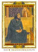 Death Tarot card in Lovers Path deck