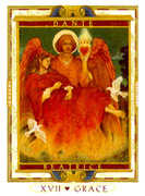 The Star Tarot card in Lovers Path deck