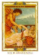 The Sun Tarot card in Lovers Path deck