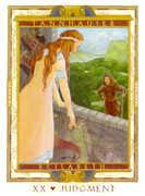 Judgement Tarot card in Lovers Path deck