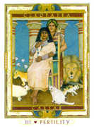 The Empress Tarot card in Lovers Path deck