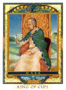 King of Cups Tarot card in Lovers Path deck