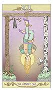 The Hanged Man Tarot card in Luna Sol deck