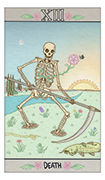 Death Tarot card in Luna Sol deck