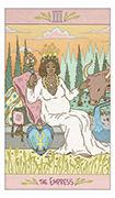 The Empress Tarot card in Luna Sol deck