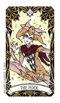 The Foolish Man Tarot Card - Magic Manga Tarot Deck