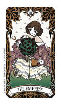 The Empress Tarot Card - Magic Manga Tarot Deck