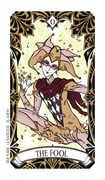 The Fool Tarot card in Magic Manga deck