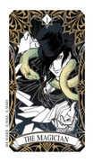 The Magician Tarot card in Magic Manga Tarot deck