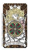 Wheel of Fortune Tarot card in Magic Manga Tarot deck