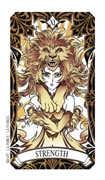 Justice Tarot card in Magic Manga deck