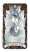 The Hanged Man Tarot card in Magic Manga deck