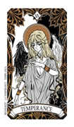 Temperance Tarot card in Magic Manga deck
