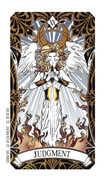 Judgment Tarot card in Magic Manga deck