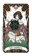 The Empress Tarot card in Magic Manga Tarot deck