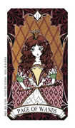 Page of Wands Tarot card in Magic Manga deck