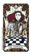 The Emperor Tarot card in Magic Manga Tarot deck