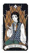 King of Cups Tarot card in Magic Manga deck