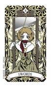 Eight of Swords Tarot card in Magic Manga deck