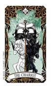 The Chariot Tarot card in Magic Manga Tarot deck