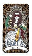 Strength Tarot card in Magic Manga Tarot deck