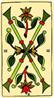 marseilles - Two of Wands