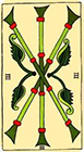 marseilles - Three of Wands