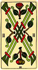 marseilles - Four of Wands