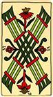marseilles - Six of Wands