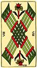 marseilles - Eight of Wands