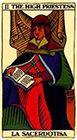marseilles - The High Priestess