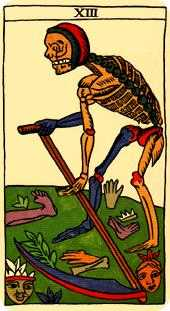 The Close Tarot Card - Marseilles Tarot Deck