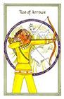 medicine-woman - Two of Arrows