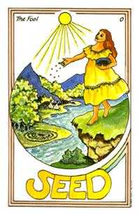 The Foolish Man Tarot Card - Medicine Woman Tarot Deck
