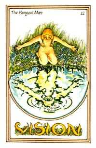 The Hanged Man Tarot Card - Medicine Woman Tarot Deck