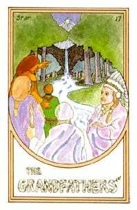 The Star Tarot Card - Medicine Woman Tarot Deck