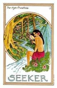 The Popess Tarot Card - Medicine Woman Tarot Deck