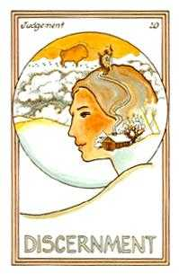 The Judgment Tarot Card - Medicine Woman Tarot Deck