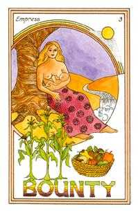 The Empress Tarot Card - Medicine Woman Tarot Deck