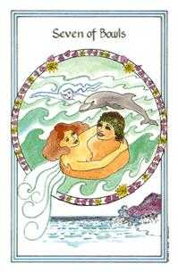 Seven of Water Tarot Card - Medicine Woman Tarot Deck