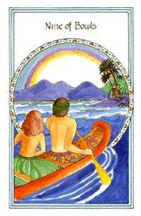 Nine of Bowls Tarot Card - Medicine Woman Tarot Deck
