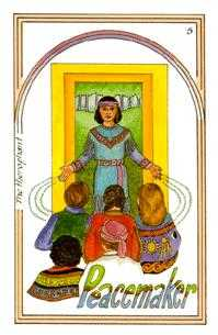 The Pope Tarot Card - Medicine Woman Tarot Deck