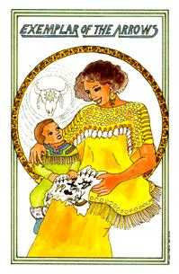Exemplar of Arrows Tarot Card - Medicine Woman Tarot Deck