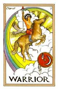 The Chariot Tarot Card - Medicine Woman Tarot Deck