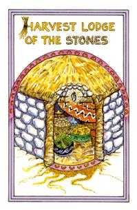 Queen of Stones Tarot Card - Medicine Woman Tarot Deck