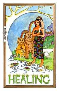 Fortitude Tarot Card - Medicine Woman Tarot Deck