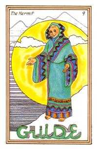The Anchoret Tarot Card - Medicine Woman Tarot Deck