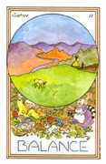 Justice Tarot card in Medicine Woman deck